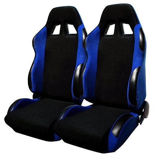 Spec-D Tuning RS-504-2 Racing Seat ()