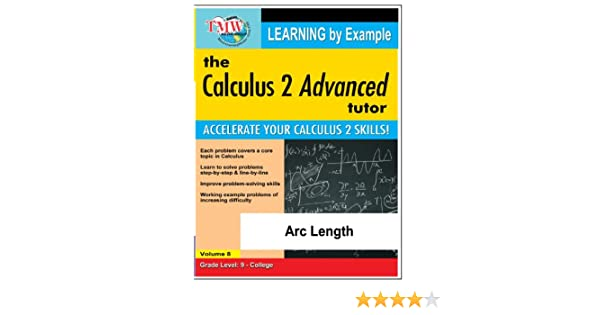 Amazon com: Calculus 2 Advanced Tutor: Arc Length: Jason Gibson