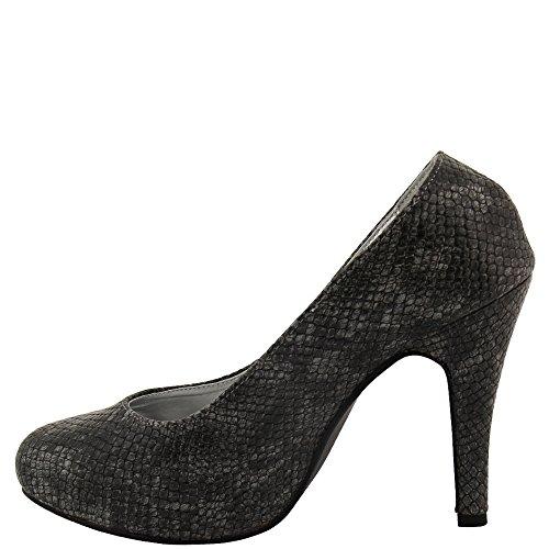 Rasalle Paris - Zapatos de vestir de Material Sintético para mujer Gris - gris