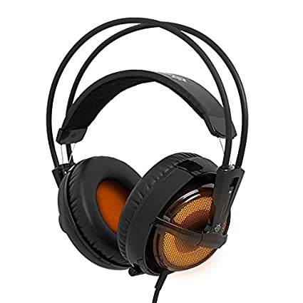 SteelSeries Siberia V2 Heat Orange - Auriculares Gaming, Naranja