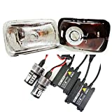 97 chevy hid headlight kit - Headlights H4351 H4352 with 6000K Xenon HID Kit Fits Chevy Camaro 93-97