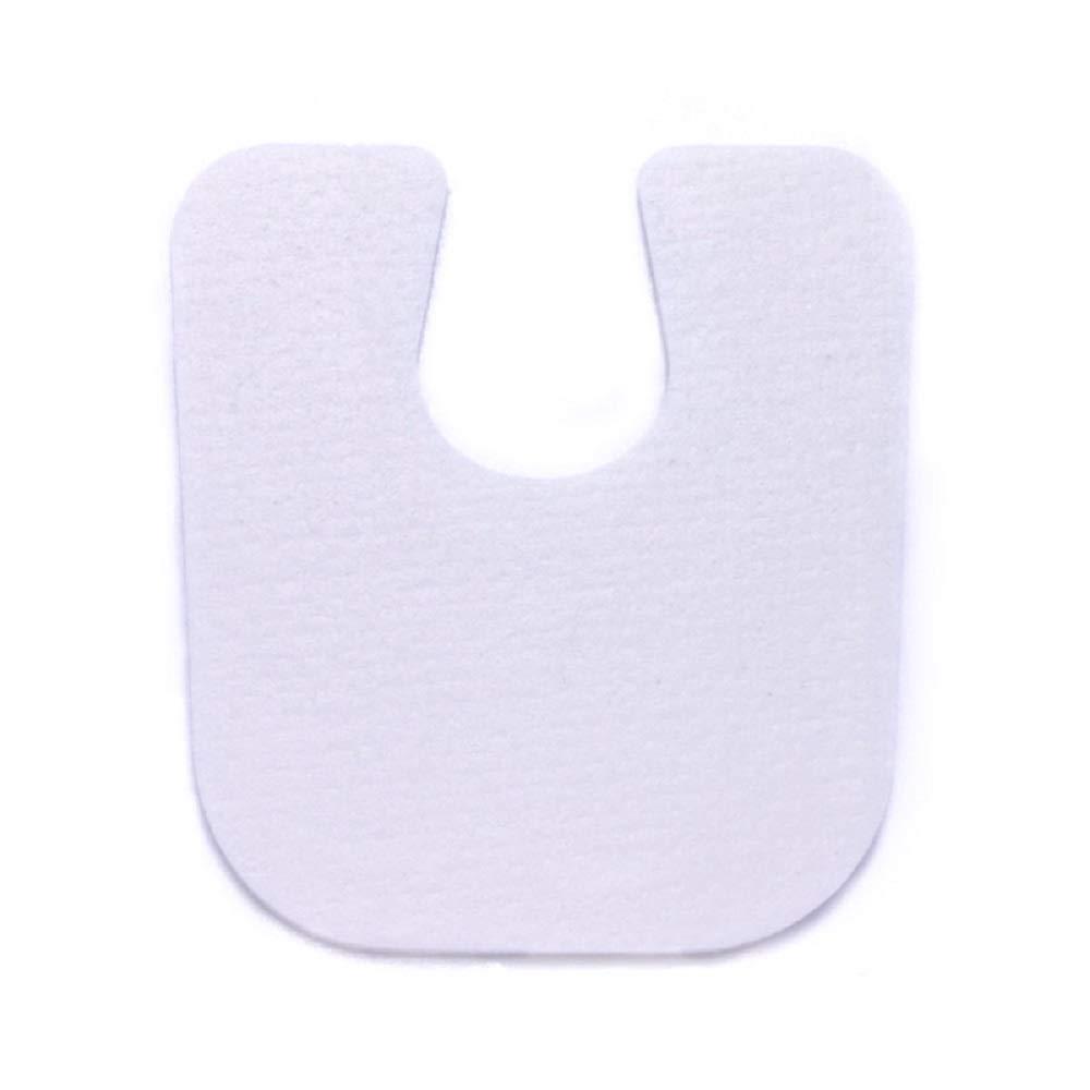 U-Shaped Foam Callus Foot Pads - 1/8'' Thick Cushions (100/Order)