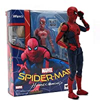 SpiderMan Homecoming The PVC Action Figure Toy 6 inch Comics Gamerverse Superheroes Christmas Collectibles Halloween Small Amazing Model Toy Collectable Big Large Gift Collectible Gifts for Kids