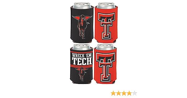 WinCraft NCAA Texas Tech University Red Raiders 12 oz Slim Can Cooler