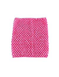 "Wennikids Baby Girl's 6""&8"" Crochet Tutu Tops Tube Top Match Tutu Skirt Pettiskirt"