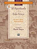 10 Spirituals for Solo Voice, Medium Low, Mark Hayes, 0882848852