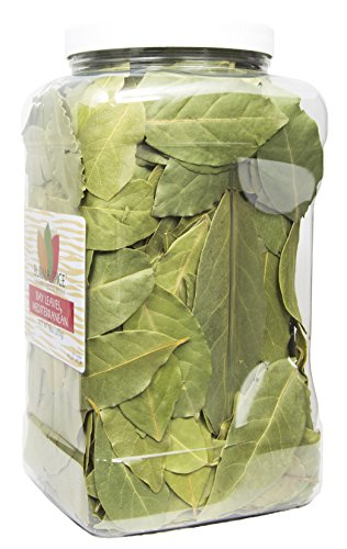 Mediterranean Bay Leaves : Laurel Leaf : Dried Herb Kosher (9oz.) by Burma Spice (Image #1)