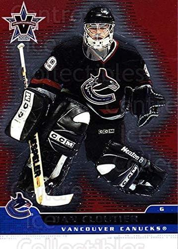 Dan Cloutier Hockey Card 2001-02 Vanguard #95 Dan Cloutier: Amazon ...
