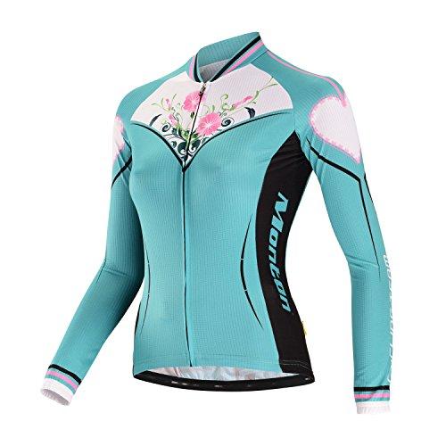 Monton 2014 Cycling Jersey Short Sleeve and Short Pants Blazers Dora (Green Dora long jersey, M)