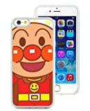iPhone 6 Case,Anpanman 1 White Shell Cover For iPhone 6S 4.7 Inches,TPU Skin