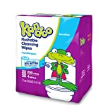 Baby : Kandoo Kids Flushable Wipes Refill, Potty Training Cleansing Cloths, Sensitive, 200 Count