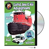 Real Wheels: Land, Air and Sea Adventures by Warner Home Video by Various
