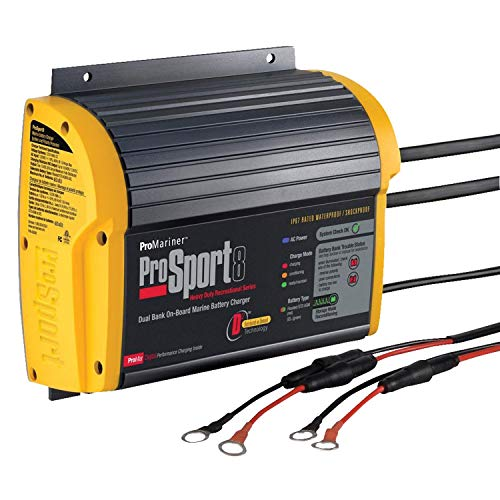 ProMariner Multi 43008 Battery Charger Prosport 8 Amp (Best Boat Battery Charger)