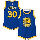 Nike Stephen Curry Golden State Warriors NBA Infants 12-24 Months Royal Blue Road Icon Edition Player Onesie Jersey (Infants 18 Months)