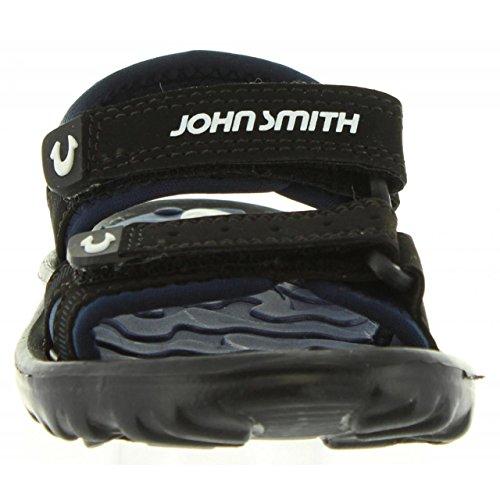John Smith Sandalen Für Junge und Mädchen Pixar Negro-Azul Marino Schuhgröße 35