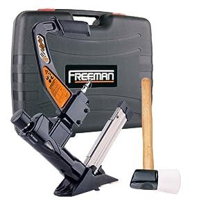 Freeman PFL618BR 3-in-1 Pneumatic Flooring Nailer