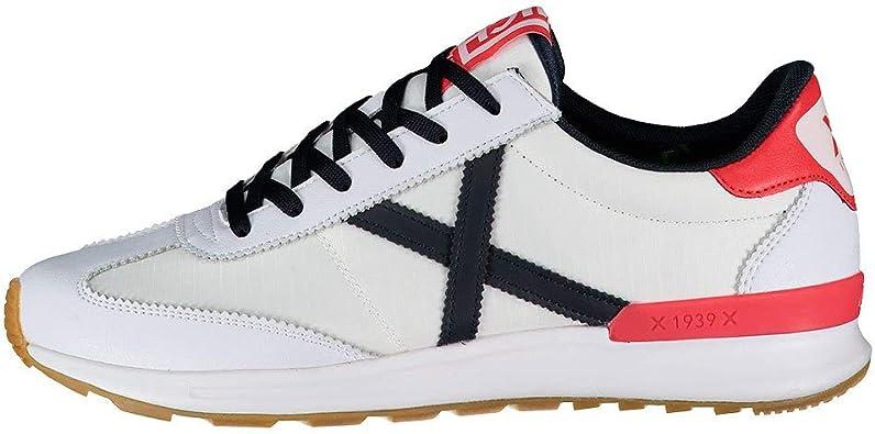 Munich Dynamo 17 Blanco Zapatillas para Hombre: Amazon.es: Zapatos y complementos