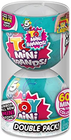 5 Surprise Toys Mystery Capsule Real Miniature Brands Collectible Toy (2 Pack) by way of ZURU
