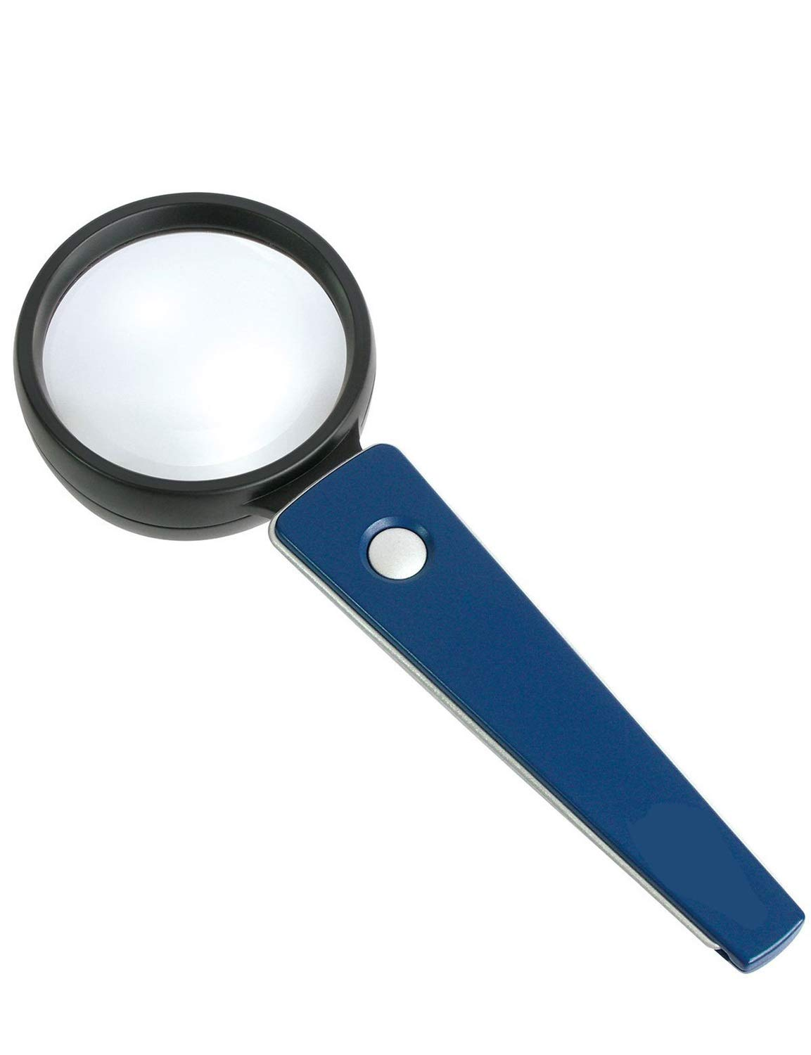 Magnifying Handheld Portable Magnifying Glass, LED Light 3X HD Optical Lens Magnifying Glass, Used for Reading Newspapers, Magazine Books, Textiles and Antiques Elderly Reading