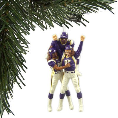 MINNESOTA VIKINGS OFFICIAL TEAM CELEBRATION CHRISTMAS ORNAMENT by Forever