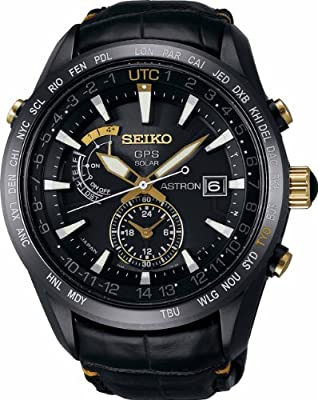 Seiko Astron Solar GPS 100th Anniversary Men's Watch SBXA100