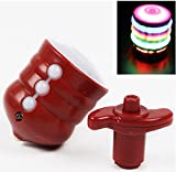 URBeauty 1 PCS Random Color Rotary Starter Colorful Glowing Toy Music Flash Plastic Gyro