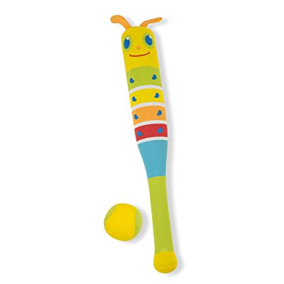 Melissa & Doug Sunny Patch Giddy Buggy Padded Bat and Soft Ball Set: Toys & Games