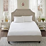 Cal King Mattress Measurements Sleep Philosophy All All Natural 100% Cotton Filled Mattress Pad Washable Bed Protector, California King, White