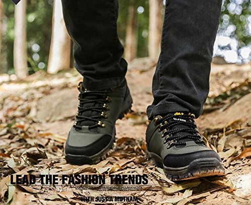 Shoes Spring A Outdoor Hiking HUAN Fall up Shoes Shoes for Men's Comfort Climbing Shoes Running Athletic PU Lace Athletic Rqgg45