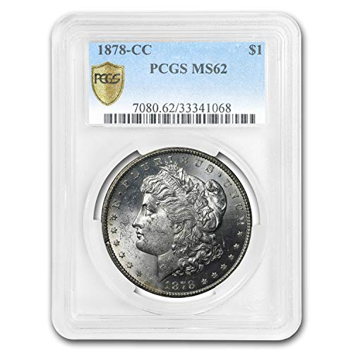 1878 CC Morgan Dollar MS-62 PCGS $1 MS-62 PCGS