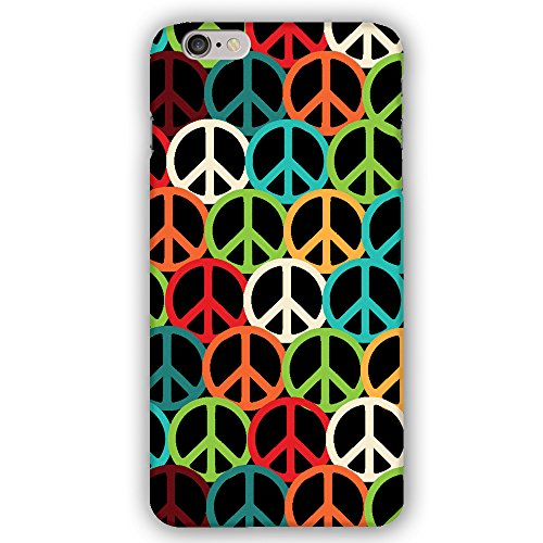 Inspired Peace Sign - Sixties and Seventies Inspired Peace Signs Apple iPhone 6 Plus / 6S Plus (5.5 inch) Phone Case
