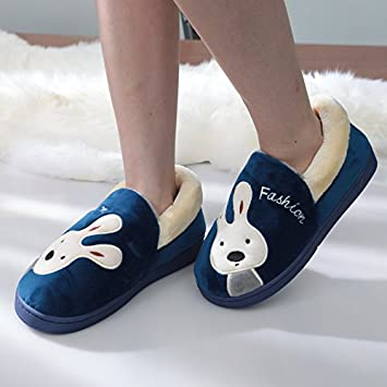 f723d631575df Aemember Female Winter Cotton Slippers Lovers Package With Large ...