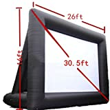 brand new 8m x 5m 8x5M Giant Inflatable Movie Screen, Outdoor Inflatable Screen With 2 Blowers