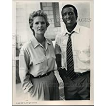 1990 Press Photo Sharon Gless and Dorian Harewood on The Trials of Rosie O'Neill
