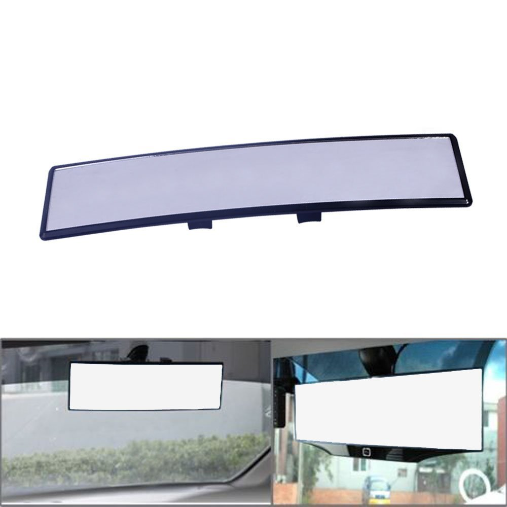 PME 300mm wide panoramic Clipon rear view mirror (Plain) PME AUTOMART