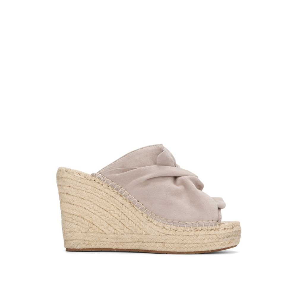 Kenneth Cole New York Women's Odele Slip Espadrille Wedge Sandal, Marine, 8 M US