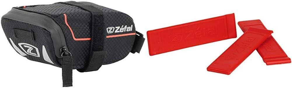 ZEFAL Z-Light Pack S Bolsa Porta-Cámaras, Unisex, Negro, S + Z-Tyre Blíster 3 Desmontables, Unisex, Rojo, Size 3: Amazon.es: Deportes y aire libre