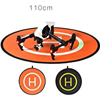 UUMART DJI Mavic Pro Quadcopter Drone Spare Parts Drones Landing Pad-110CM Homga Universal Waterproof Portable Foldable Landing Pads