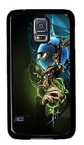 Samsung Galaxy S5 retro covers Creative Design Cool PC Black Custom Samsung Galaxy S5 Case Cover