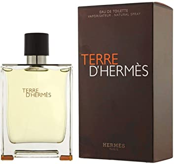 Amazoncom Terre D Hermes Pour Homme By Hermes 200ml 67oz Edt