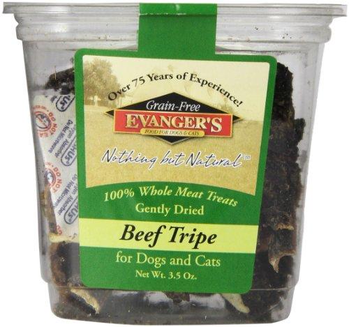 Evangers Gently Dried Treats - Beef Tripe - 3.5 oz