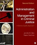 Administration and Management in Criminal Justice 9781483350707