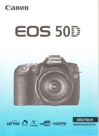 Manual de instrucciones en alemán original Canon EOS 50D 227 ...