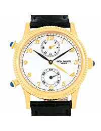 Patek Philippe Calatrava mechanical-hand-wind womens Watch 4864J (Certified Pre-owned)