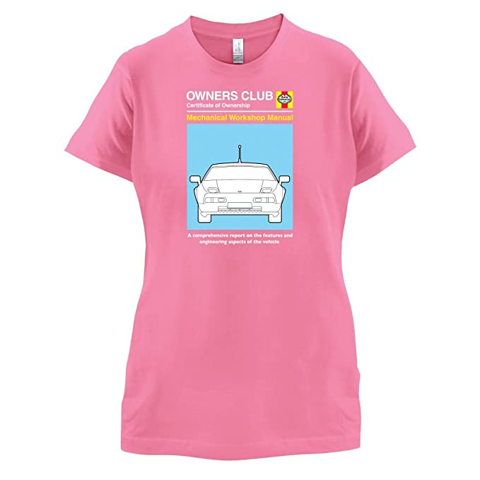 Dressdown Car Owners Manual 928 Turbo - Womens T-Shirt - Azalea - Small