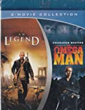 I Am Legend (2007) / The Omega Man (1971) [Blu-ray] (Double Feature) - Will Smith, Charlton Heston - (Blu-ray - 2011)