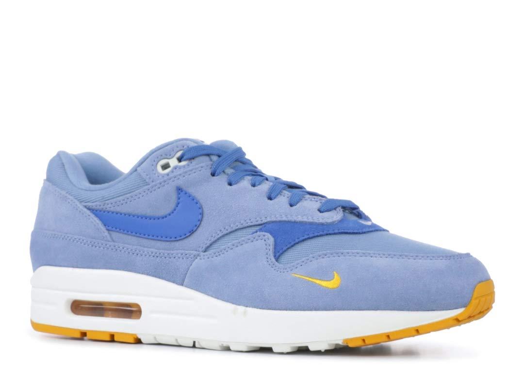 9f4a6cf3cee80 Galleon - Nike Men's Air MAx 1 Premium Work Blue/Yellow Ochre/Sail ...