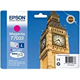 Epson C13T70334010 - Cartucho de tinta, magenta