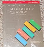 Advanced Microsoft Word, Mark Brownstein, 0078810108