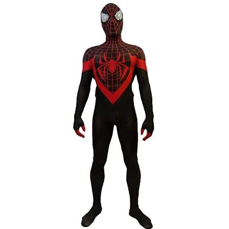 Traje De Traje De Cosplay De Spiderman, Medias, Traje ...